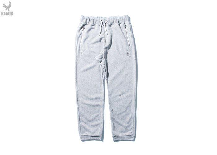 [ LAB Taipei ] REMIX '16 S/S DAMAGED PANTS [ 灰 ]