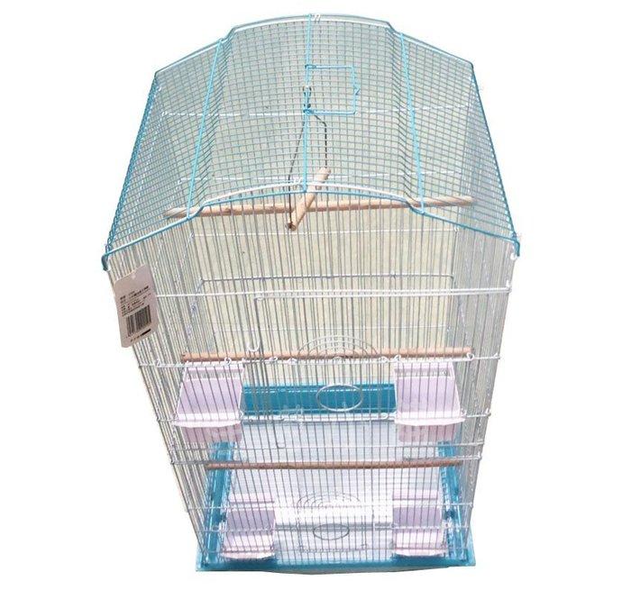 ☆汪喵小舖2店☆ SJ 加高造型大鳥籠新款 // 適合中型鸚鵡或多隻小型鸚鵡