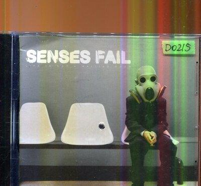 *還有唱片四館* SENSES FAIL / LIFE IS NOT A WAITING 二手 D0215 (封面底破