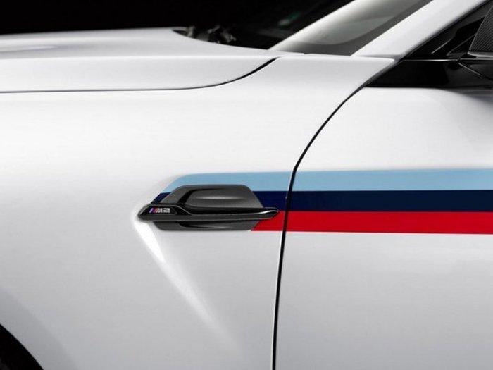 【樂駒】BMW 原廠 改裝 精品 套件 F87 M2 M Performance 高亮黑 側邊 飾蓋 飾板 葉子板 空力