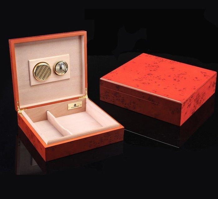 西班牙雪松木雪茄盒迷你便攜式雪茄保濕盒原裝正品