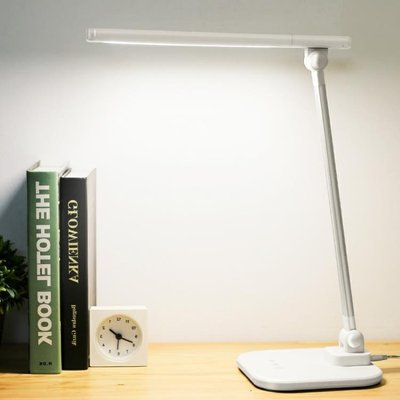 檯燈護眼書桌大學生學習led充電式折疊...