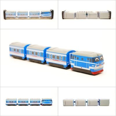 【喵喵模型坊】TOUCH RAIL 鐵支路 Q版 北京號小列車 (QV050T1)