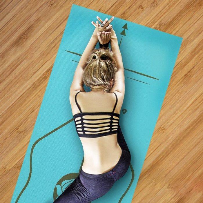瑜伽墊 6mm初學者加厚加寬加長專業防滑無味男女健身瑜珈墊