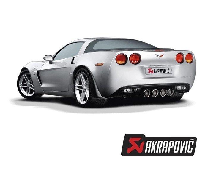 【樂駒】Akrapovic 鈦合金排氣系統 for Z06 (C06), ZR1