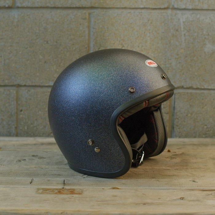 (I LOVE樂多)美國BELL BLACK FLAKE 4/3安全帽 全車種風格搭配