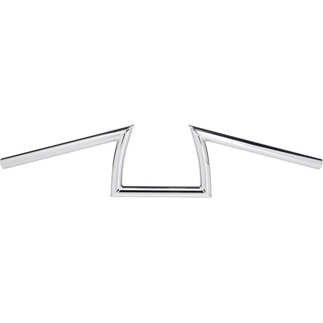 (I LOVE樂多)USA Biltwell KEYSTONE手把 1吋/ 7/8 電鍍銀&亮黑 哈雷 閃電把 ㄇ字把