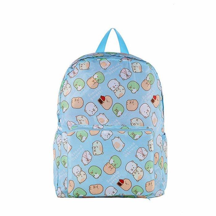 【限時下殺↘399(原價$480)】可愛角落生物防潑水背包/雙肩包/旅行包/折疊背包