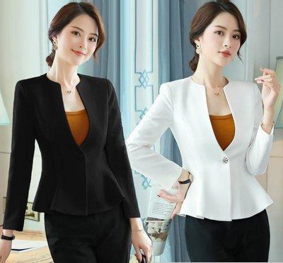 促銷新品特價【預購】新款修身長新袖OL西裝外套《6057/6033》小外套YI-125