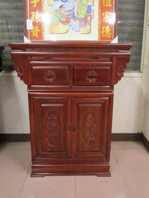 光南家具-2.9尺樟木美喬式公媽桌、神桌