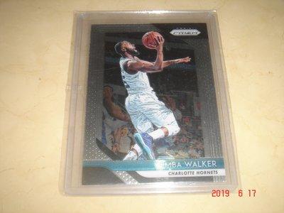 美國職籃 NBA Hornets Kemba Walker 2018-2019 Panini Prizm 球員卡