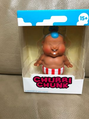 Unbox x Jim Dreams - Chubbi Chunk 肥仔 Summer 炎夏版 紅褲 Sofubi Vinyl Figure