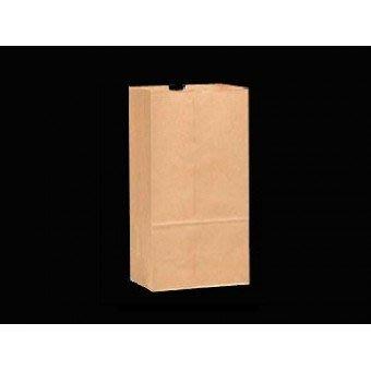 【無敵餐具】4號方型外帶紙袋/牛皮紙袋/抱袋 60本牛空白 (127x245x77mm)1箱/3000個【WD0001】
