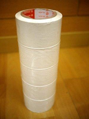 附發票*東北五金*3K牌白色冷氣PVC可撕膠帶60mm*27米下標區