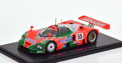 【MASH】[現貨瘋狂價]  Spark 1/43 Mazda 787B  24h Le Mans 1991  冠軍