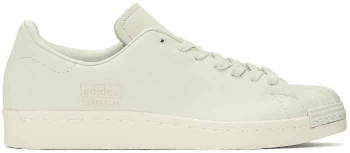 adidas Originals  lvory Superstar 80s Clean Sneakers