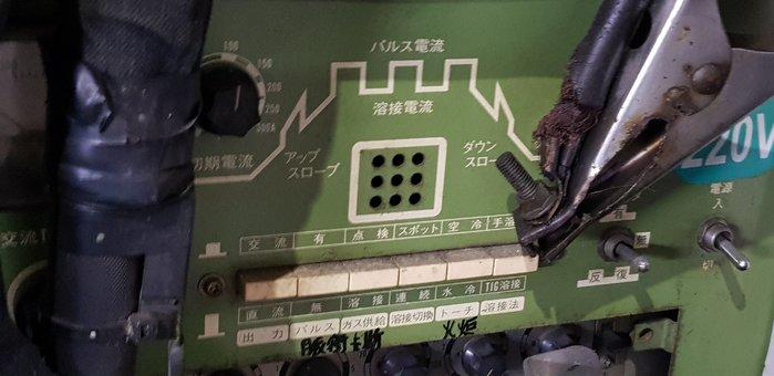 水冷式 排氣管燒焊機 (國際牌) 鈦合金燒焊 (鈦合金排氣管)點焊 白鐵 燒焊 (日本原裝進口)
