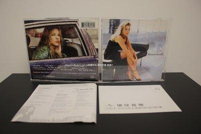 2001年Verve戴安娜克瑞兒Diana Krall愛的容顏The Look of Love 只有VCD 絕版二手少聽