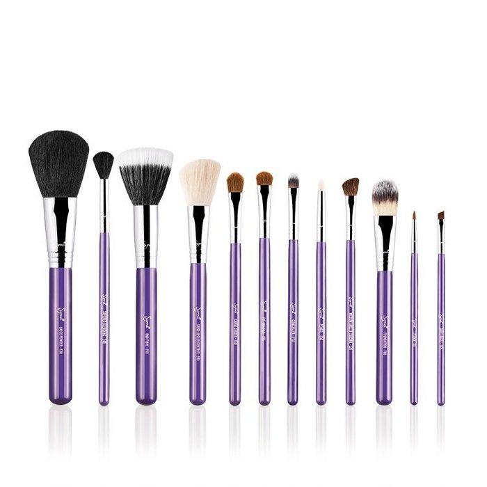 Sigma ESSENTIAL KIT MAKE ME 12件化妝刷組+刷筒【愛來客】美國Sigma官方授權經銷商