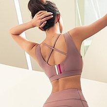 【路依坊】運動內衣 BRA 無鋼圈瑜伽背心 瑜珈衣 韻律 跑步 慢跑  有胸墊 內衣  運動背心 健身A2169