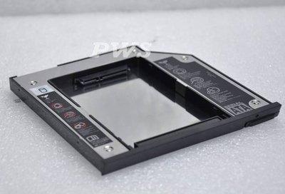 *0【DELL Latitude E6400 E6410 E6500 M4400 M4500 M2400 E4300 第二顆SATA硬碟抽取盒 裝兩顆硬碟】*0
