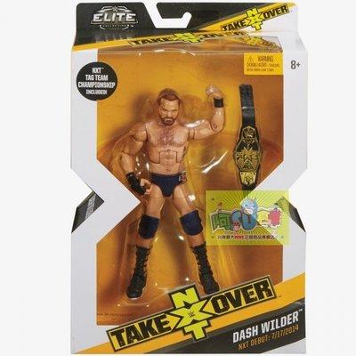☆阿Su倉庫☆WWE摔角 Dash Wilder NXT Takeover Elite Figure 限定款精華版人偶