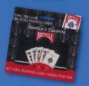 撲克牌BICYCLE 808 COLLETIBLE TIN