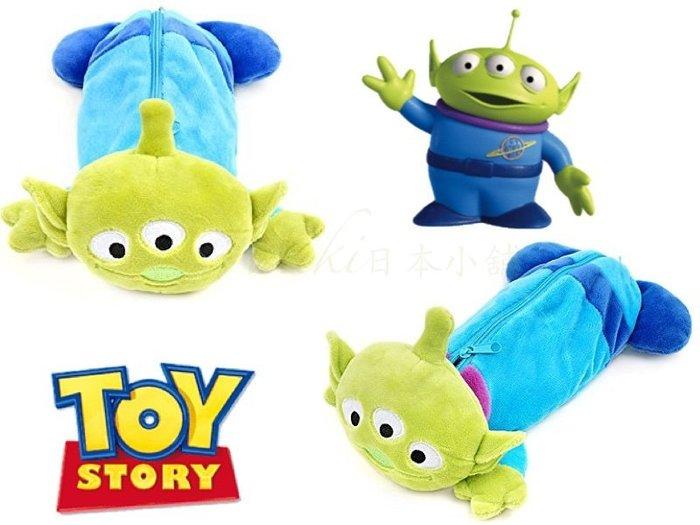 *Miki日本小舖*日本㊣版迪士尼玩具總動員TOY STORY 三眼怪立體玩偶造型筆袋