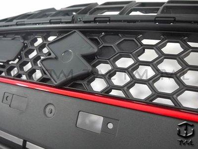 《※台灣之光※》全新 SUZUKI SWIFT 17 18 19年日規RS樣式外銷A級品前保桿黑框紅條水箱罩