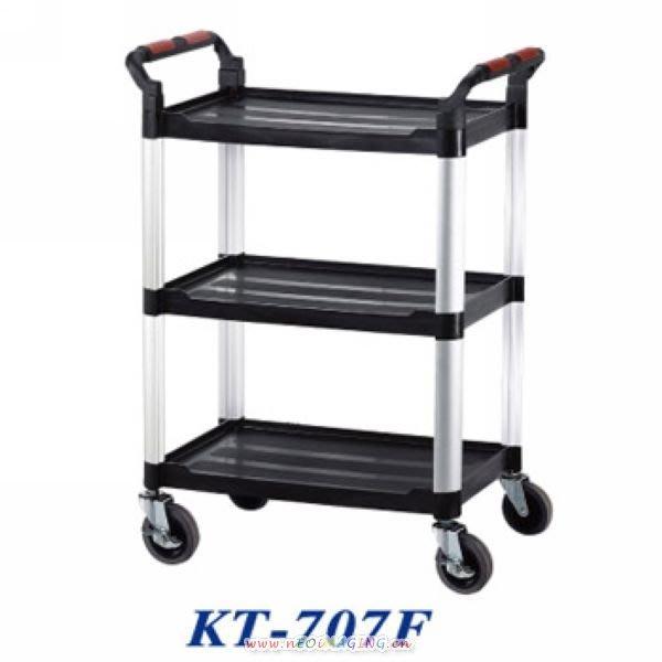 【鎮達】標準型多功能全方位工作車 / 手推車 / 美容推車 / 餐車 KT-707F