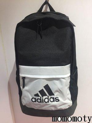 ADIDAS CLASSIC 2P 背包 黑白 大容量 書包 筆電包 後背包 水壺袋 CD1763 請先問庫存