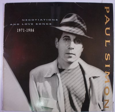 《二手英版黑膠》Paul Simon - Negotiations And Love Songs (2LP)