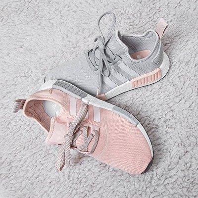 國外正品 Adidas NMD RUNNER 粉灰 灰粉 女神 黑粉 3M 反光 R1 女鞋 櫻花粉 淺灰