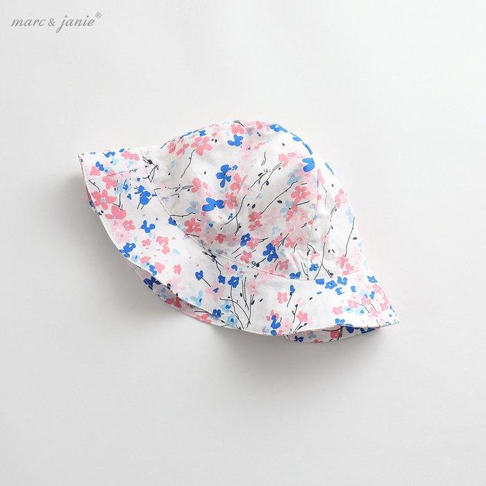 嬰兒帽子夏裝女童太陽帽寶寶棉質遮陽帽嬰兒外出帽子