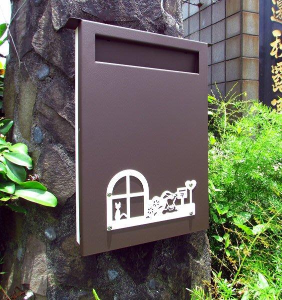 「大而薄」設計款不鏽鋼特大款上拉式信箱,別出心裁,提供不同的生活選項