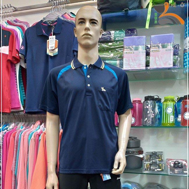 男款POLO排汗衫 J12016P-6 排汗衣 抗UV透氣 快乾 3件1000 台灣製 喜樂屋戶外∣班服訂製∣團體服訂製