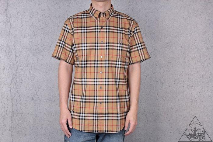 【HYDRA】19 Burberry Jameson Tapered Shirt 格紋襯衫【8002927】