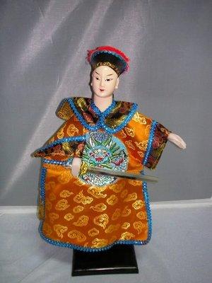kjauction(L)河洛坊精緻級布袋戲偶有禮盒~皇帝-康熙~