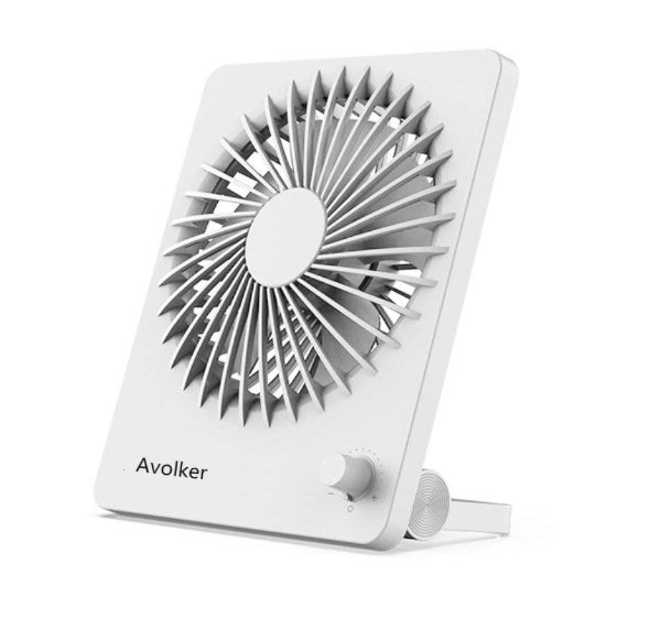 《FOS》2019新款 Avolker 日本 桌上型 USB 風扇 大風量 靜音 桌扇 立扇 涼風扇 除濕 夏天 熱銷