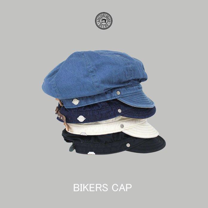 WaShiDa【D-02】DECHO日本品牌 日本製BIKERS CAP 短帽簷 扁帽 可調 - 預訂