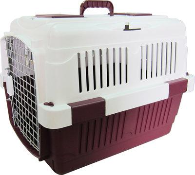【優比寵物】F60大型原野運輸籠/手提籠/外出籠/寵物籠(規格長61x高46x高47.5cm)(附滑輪)