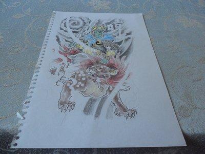 藍色小館10-11--------創作畫