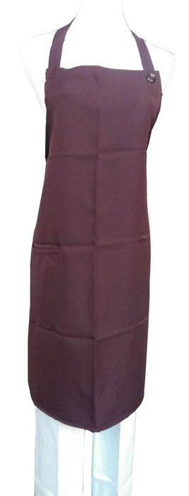 ☆°萊亞生活館 °圍裙 。全短圍裙。廚師圍裙。工作圍裙 【A084全短-繞頸-深色】