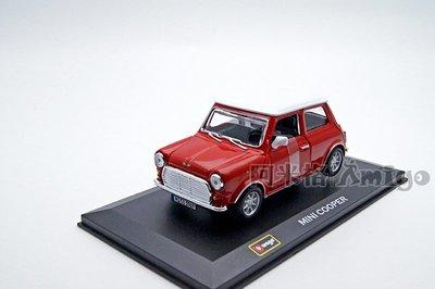 阿米格Amigo│1:32 BburagoMINI Cooper 合金車 模型車 經典古董車 豆豆先生 預購