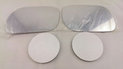 *HDS*三菱 GRUNDER 05 佳蘭 05 白鉻鏡片(一組 左+右 貼黏式) 後視鏡片 後照鏡片 後視鏡玻璃
