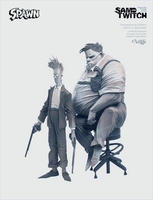 ArtLife @ McFarlane 2004 SPAWN COMIC SAM #& TWITCH 麥法蘭 山姆與推奇