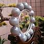 §【紫龍苑~玉器水晶藝品】§嚴選..天然..鏡面拋光(馬達加斯加島~透光~紫玉瓍)~手珠