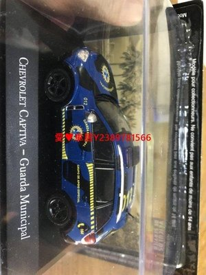 愛♥車居 模型R IXO 1:43雪佛蘭CHEVROLET CAPTIVA GUARDA MUNICIPAL汽車金屬模型飛機機車摩托戰斗機