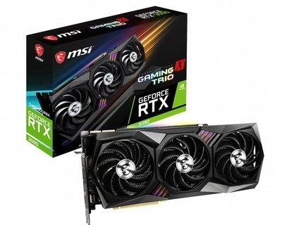 [米特3C數位] MSI 微星 GeForce RTX 3090 GAMING X TRIO 24G 顯示卡
