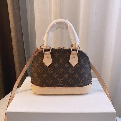【原正行】1v Alma貝殼包 Squire Bag旅行袋 原版變色皮 0744